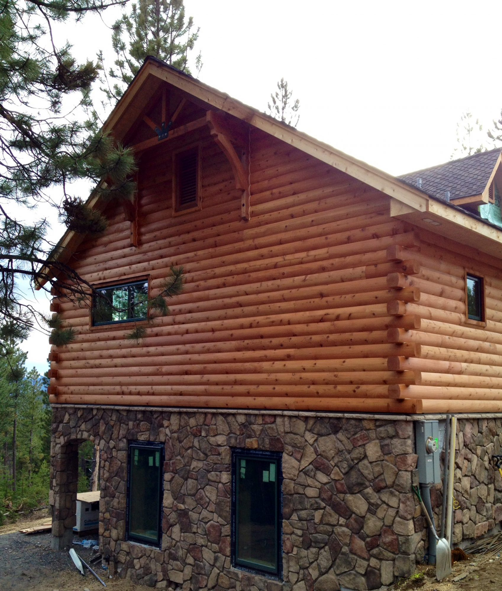 Log Cabin Siding For Homes